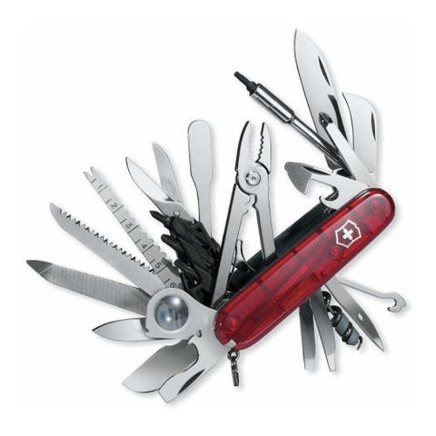 Victorinox Swiss Army Swiss Champ XLT (Transucent Ruby)