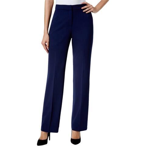 Kasper Womens Kate Dress Pants, Blue, 14P