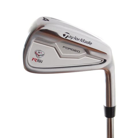New TaylorMade RSi TP Forged 4-Iron Rifle Flighted 5.5 R-Flex Steel RH