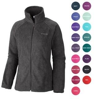 Columbia NEW Women's Original Mock Neck Zip Up Warm Winter Fleece Jacket