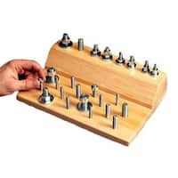Two-Tiered Horizontal Bolt Board