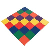 Gymax Infants Kids Soft Cushioned Toddler Activity Play Rest Time Play Mat Multicolor