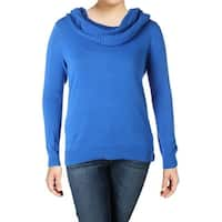 MICHAEL Michael Kors Womens Plus Pullover Sweater Knit Cowl Neck