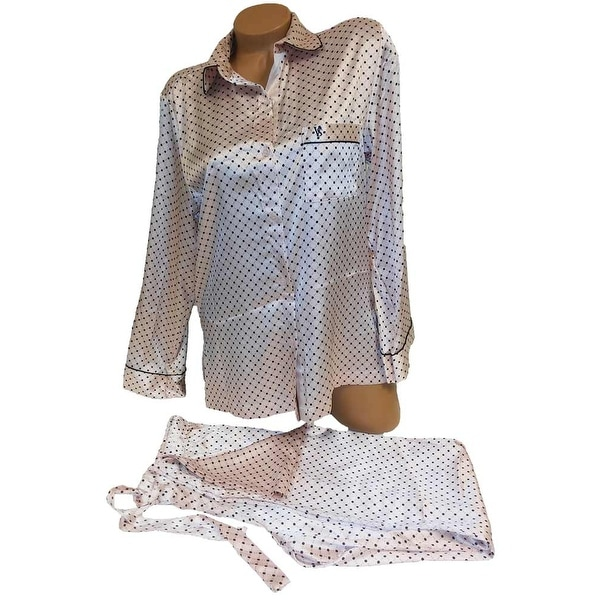 Shop Victoria s Secret 2PC Satin Pajama Set - Free Shipping Today ... 4645064cb
