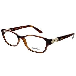 Valentino V2621 214 Havana Rectangular Valentino Eyewear