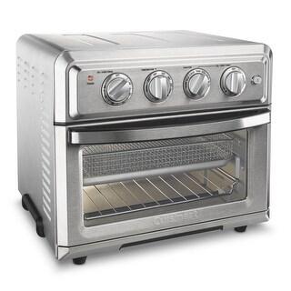 Cuisinart TOA-60 Cuisinart Convection Toaster Oven Air Fryer, Silver