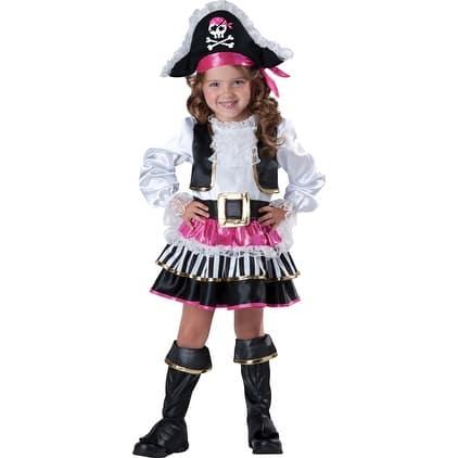 Pirate Girl Buccaneer Halloween Costume