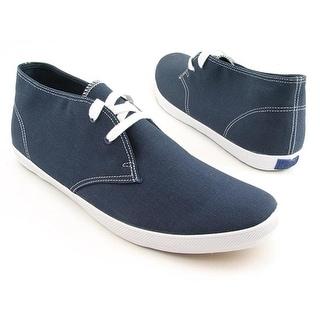 Keds Champion Chukka Men Round Toe Canvas Blue Sneakers