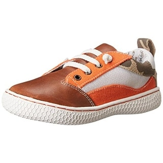 Livie & Luca Boys Archie Toddler Leather Fashion Sneakers - 6 medium (d)