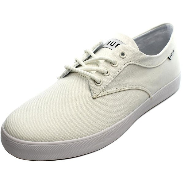 HUF Sutter Men Round Toe Canvas White Skate Shoe