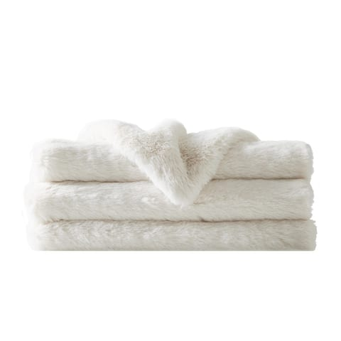 Charisma Luxe Super Soft Faux Fur 50x70 Throw with Gift Box