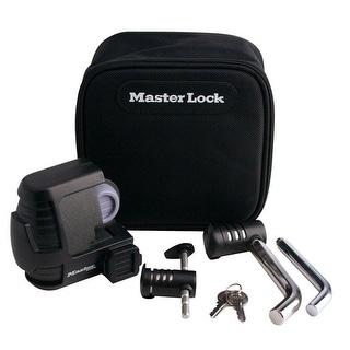 Master Lock 3794DAT Trailer Coupler/Hitch Pin Lock Set, Black