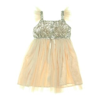 Popatu Girls Formal Dress Sequined