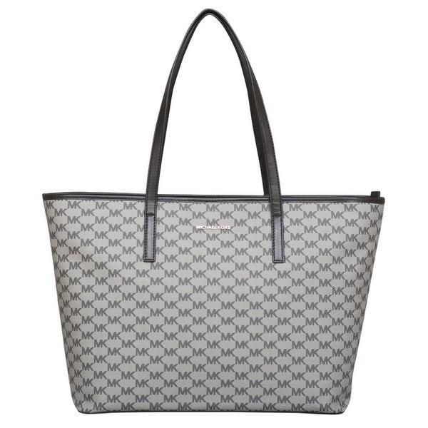 shop michael kors studio large emry top zip tote handbag free rh overstock com