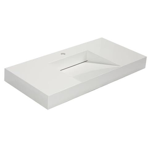"ES-DIY Bathroom Sink 40"" x 19"""