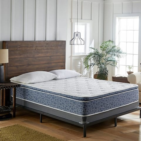 American Bedding 10 Inch Plush Pillow Top Hybrid Mattress