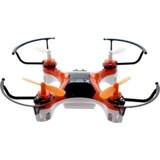 Worryfree Gadgets - X-Drone-Org Nano 2.0 Aerial R/C Drone Quadcopter Toy, Orange