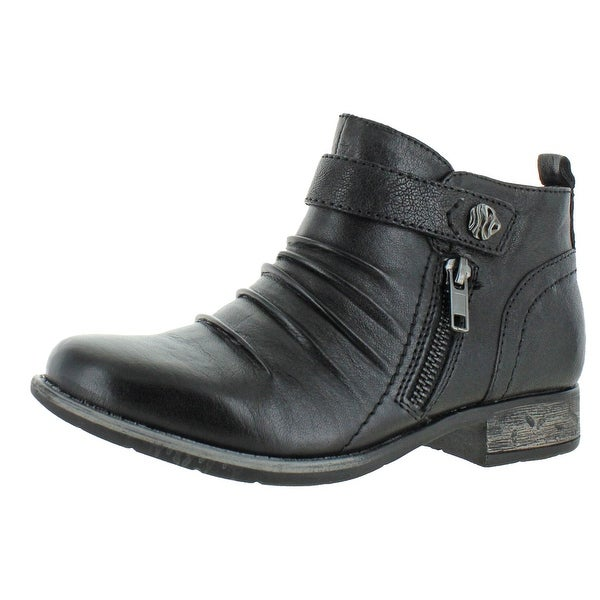 Earth Womens Brook Booties Leather Cushioned. Opens flyout.