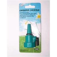 Rugg W6ES Plastic Sweeper Nozzle With Shut-Off Valve