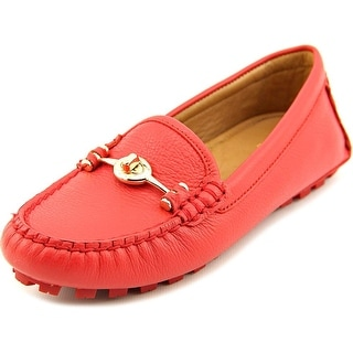 Coach Arlene   Moc Toe Leather  Loafer