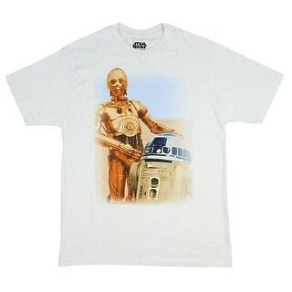 Star Wars R2-D2, C-3PO Droids Men's T-Shirt