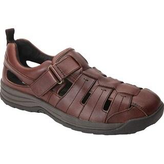 Drew Shoe Mens dublin Leather Closed Toe Sport Sandals - 13