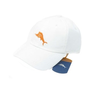 Tommy Bahama Marlin Camper White Adjustable Golf Hat Ball Cap