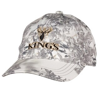 King's Camo Hunter Series Embroidered Hat Snow Shadow