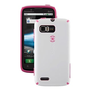 Speck CandyShell Case for Motorola Atrix 2 MB865 (Pink/White)