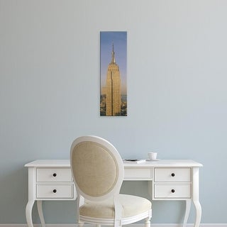 Easy Art Prints Panoramic Images's 'Empire State Building New York NY' Premium Canvas Art