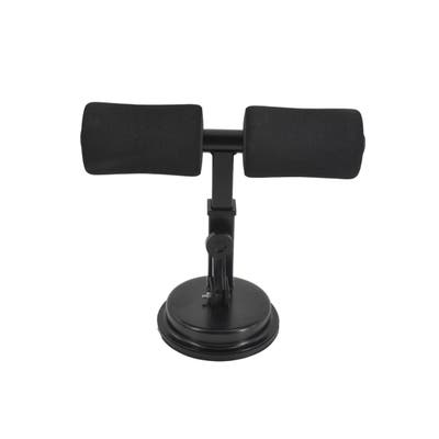 Sit Up Bar Assistant Device with Self Suction Foot holder for Floor Abs Workout