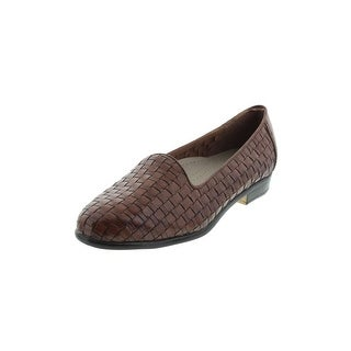 Trotters Womens Liz Smoking Loafers Flat