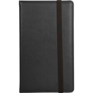 "Urban Factory NFO01UF Urban Factory Carrying Case (Folio) for 7"" Tablet - Black - Leather"