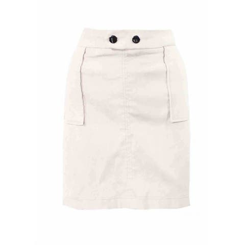 INC Womens Beige Mini Evening Skirt Size XXL