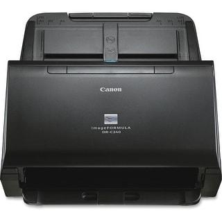 Canon 0651C002 Canon imageFORMULA DR-C240 Sheetfed Scanner - 600 dpi Optical - 24-bit Color - 8-bit Grayscale - 45 - 30 - Duplex