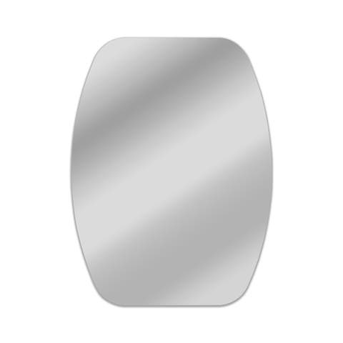Oval Frameless Mirror - 31.5 x 24.4