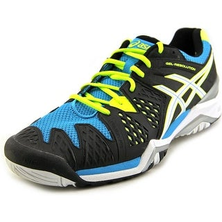 Asics Gel-Resolution 6 Round Toe Synthetic Tennis Shoe