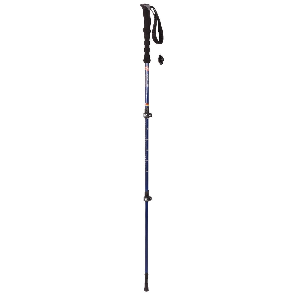 New Pair 2 Trekking Walking Hiking Sticks Poles Alpenstock Adjustable Anti-Shock