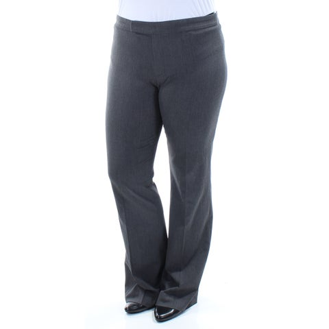 RALPH LAUREN Womens Gray Wear To Work Pants Size: 12