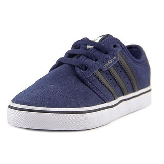Adidas Seeley J Round Toe Canvas Skate Shoe