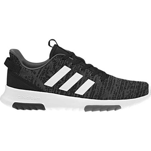 3c698685583 Shop adidas Men s NEO Cloudfoam Racer TR Running Shoe Core  Black White Carbon - On Sale - Free Shipping Today - Overstock - 22863947