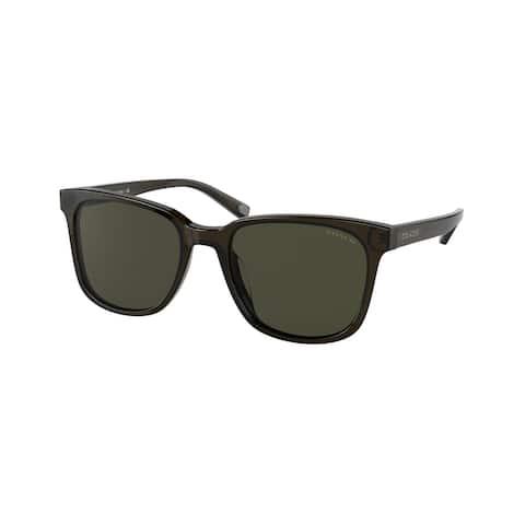 Coach HC8313U 520382 54 Military Green Man Pillow Sunglasses