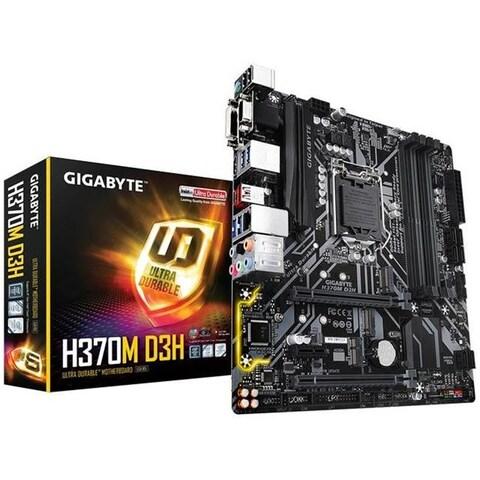 Gigabyte MB-H37MD3H Intel H370, DDR4 MicroATX Motherboard