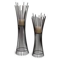 Lighting Business 10657-2 Metal Candleholder Duo - Set of 2