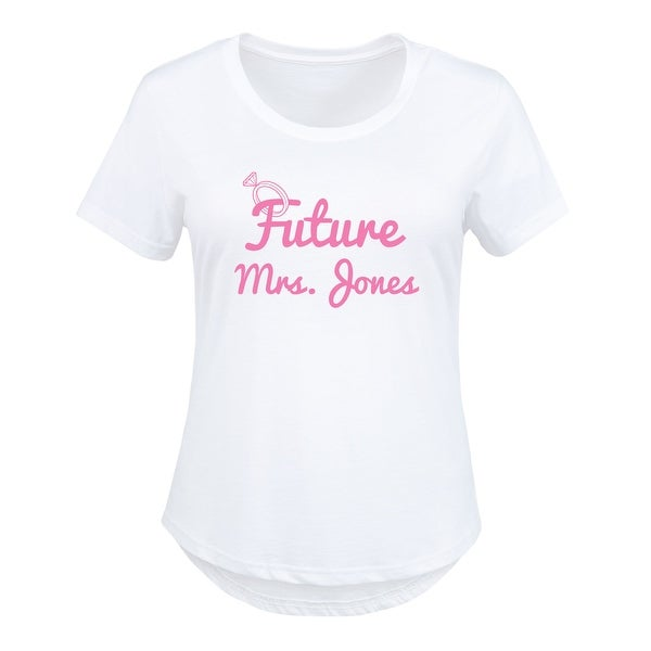 1806fc66727 Shop Future Misses Ring (Personalized) - Ladies Plus Size Scoop Neck Tee -  Free Shipping On Orders Over  45 - Overstock - 26036108