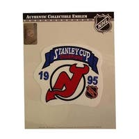 NHL Stanley Cup Champions Patch- New Jersey Devils 1995