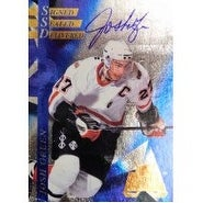 Signed Green Josh 1996 Collectors Edge Limited Edition 6000 Hockey Card autographed