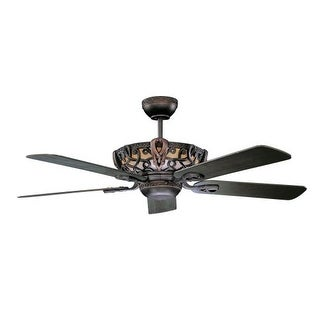 "Concord 52AC5 52"" 5 Blade Ceiling Fan with Blades from the Aracruz Collection"