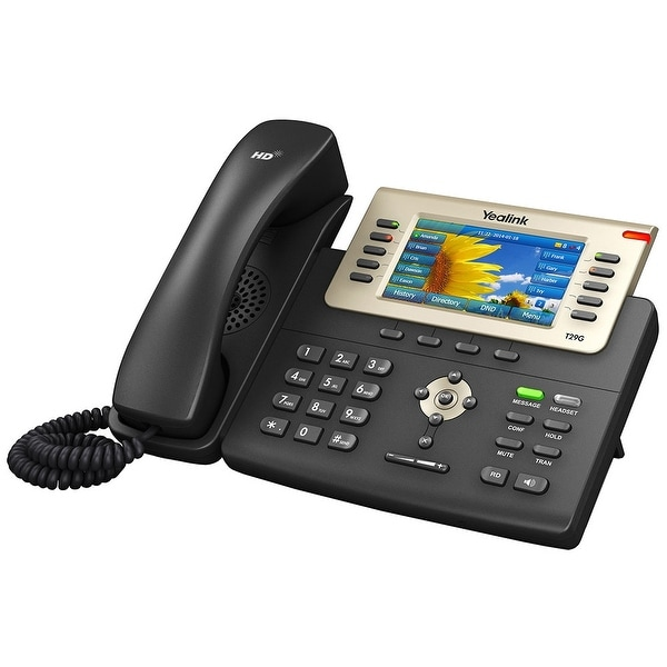 Yealink T29g 10 Line Sip Telephone With Expansion Module Support