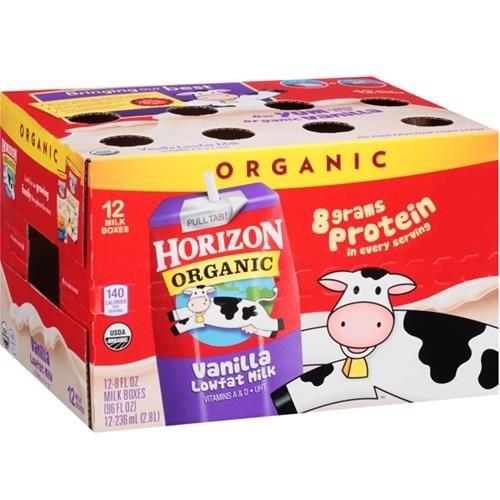 Horizon Organic Dairy - 1% Vanilla Milk Club Pack ( 12 - 8 FZ)